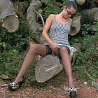 alte Frau Outdoor Sex